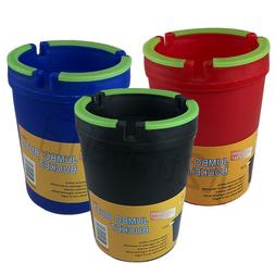 Large Ashtray Outdoor Butt Bucket for Car Home Portable Ash