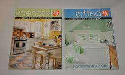 Lot of 2 Home Improvement Books on Kitchen and Bathroom Desi