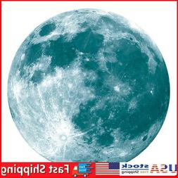 Luminous Moon Earth Wall Stickers for Kids Room Bedroom DIY