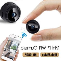 Mini HD 1080P Wireless Wifi IP Home Security Camera Camcorde