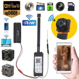 Mini Wireless IP Hidden Spy Camera WIFI 1080P HD For Home Su