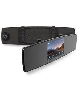 YI Mirror Dash Cam, Dual Dashboard Camera Recorder with Touc
