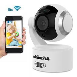 Baby Monitor Home Camera with 2 Way Audio 1080P IR Night Vis