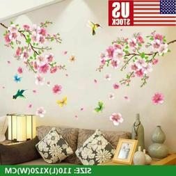 NEW Cherry Blossom Wall Decal Pink Flower Tree Wall Decal Fo