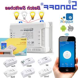 New Sonoff Smart Home WiFi Wireless Switch Module For IOS An