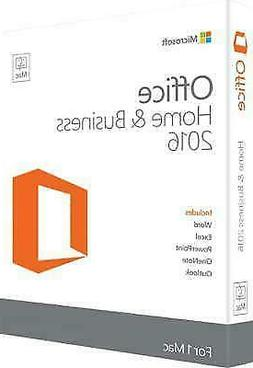 Microsoft Office 2016 Home and Business for Mac Super Fast D