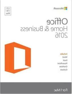 Microsoft Office Home and Business 2016 For Mac 1 User Same