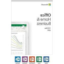 Microsoft Office Home & Business 2019 For Windows 10 & Mac -