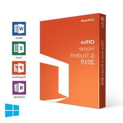 Microsoft Office Home and Student 2019 for Windows PC PRODUC
