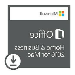 Microsoft Office 2016 Home and Business for MAC - DIGITAL IN