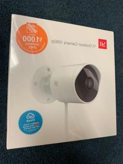 YI - Outdoor Security Camera - 1080p - Weatherproof - Night
