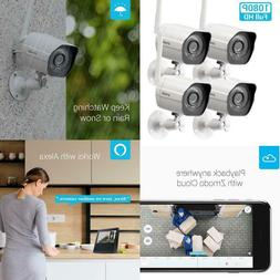 Zmodo Outdoor Security Camera , 1080p Full HD Wireless Camer