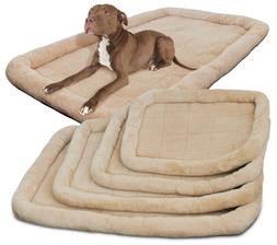 Pet Bed for Dog Cat Crate Mat Soft Warm Pad Liner Home Indoo