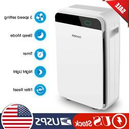 Powerful Large Room Air Purifier Medical Grade HEPA for Home