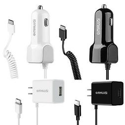 Premium Car Charger Adapter / Premium Home Wall Travel Charg