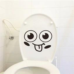 quotes pattern toilet stickers for home decoration