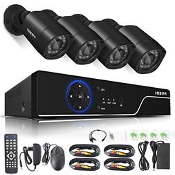 FREDI Security Camera System 8-Channel H
