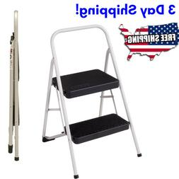 Small Step Ladder For Home Kitchen Protable Folding 2 Steps