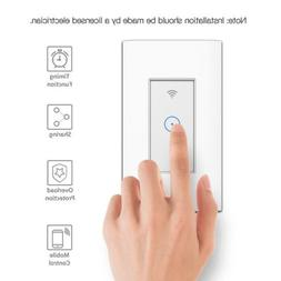 Smart Home WiFi Touch Light Voice Control Wall Switch Panel