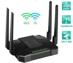 Smart WiFi Router Dual Band Gigabit Wireless Internet Router