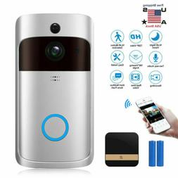 smart wireless home 720p visual video doorbell