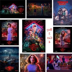Stranger Things Season 3 Posters 13 Characters Glossy Paper
