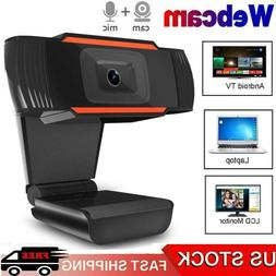 USB 2.0 HD 1080P Home Webcam Camera Built in Microphone For