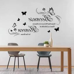Tbrand Wall Sticker Home Decals for Family Bedroom Living Ro