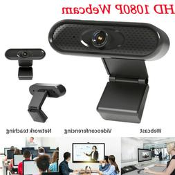 Webcam HD 1080P USB Camera with Internal Microphone for Onli
