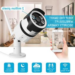WIFI 1080P 2MP Security Camera Motion Detection Night Vision