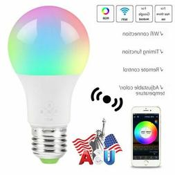 Wifi Smart LED Light Bulb for Amazon Alexa Google Home Multi