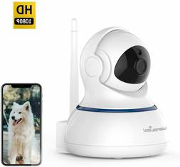 Wansview Wireless 1080P Security Camera, WiFi Home Surveilla