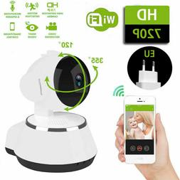 Wireless 720P Pan Tilt Network IP Camera IR Night Vision WiF