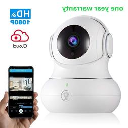 Wireless Baby Monitor WiFi IP Camera Security1080P with Nigh