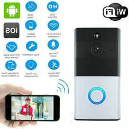 Wireless Home Security Wi-Fi Outdoor 720P Video Doorbell For