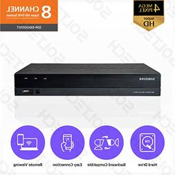 Samsung Wisenet SDR-B84300N1T 8 Channel SuperHD 4MP Security