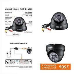ZOSI HD 1000TVL Surveillance Security Camera Day Night Visio
